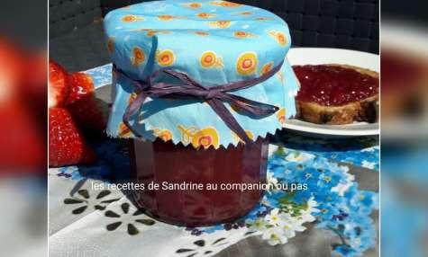 Recette de confiture de fraises vanille maison