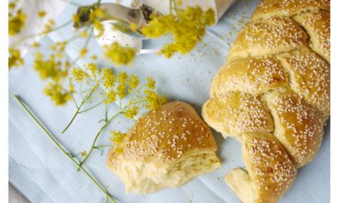 Tcheurek, brioche de Pâques arménienne