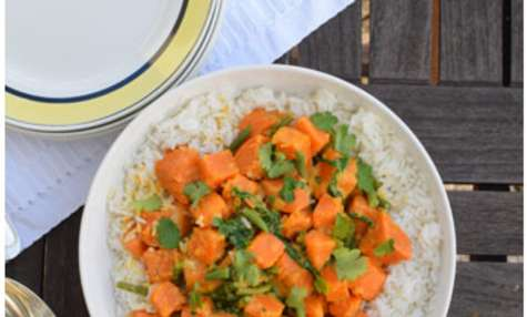 Curry de patate de douce