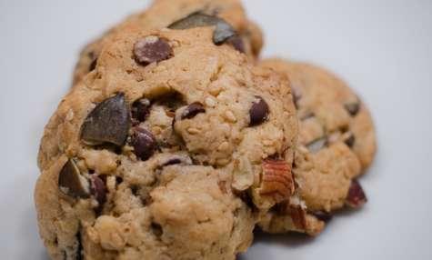 Cookies au chocolat, aux noisettes