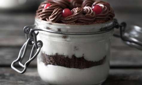 Verrines de Pâques chocolat et coco