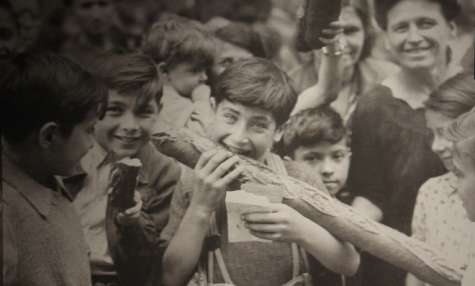 Soufflé aux miettes de pain
