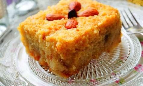 Kalb ellouz gâteau algérien à la semoule & amande