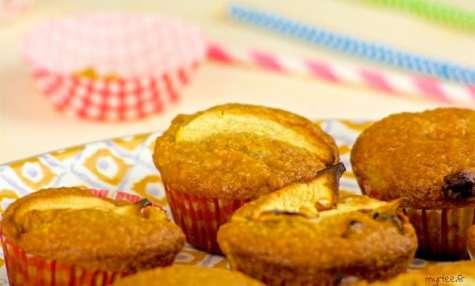 Muffins pommes et raisins secs