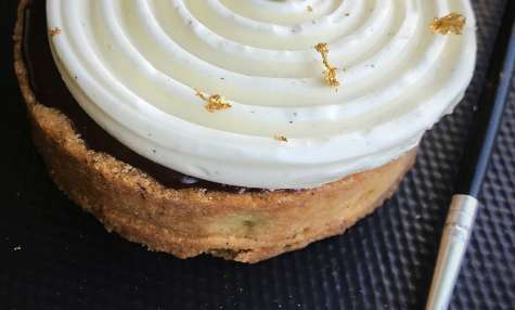 Tarte vanille façon Cédric Grolet