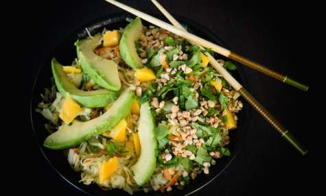 Salade de choucroute crue façon Thaï