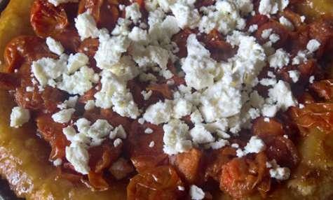 Tarte tatin tomates/feta