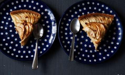 Tarte aux pommes rosace, presque comme chez le pâtissier
