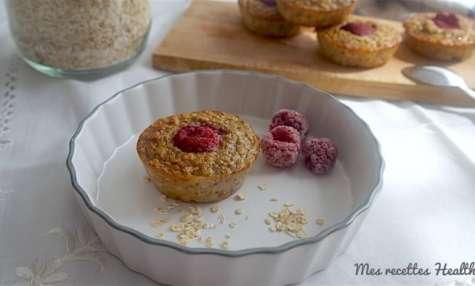 Muffin healthy de base à la banane et avoine