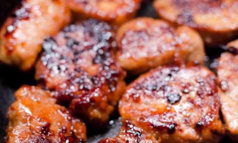 Filet mignon de porc sauté, au miel et aux épices