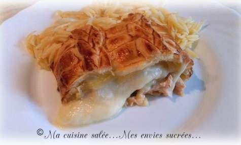 Saumon feuilleté - Ma cuisine salée ... Mes envies sucrées ...