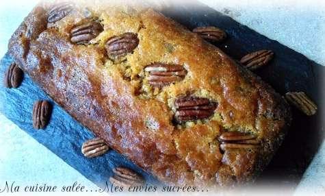 Cake fondant à la patate douce et noix de pécan