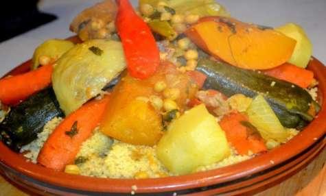 Couscous Marocain à l'Agneau et Légumes