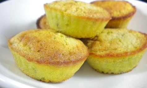 Petits fondants à la pistache sans gluten