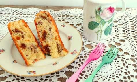 Gâteau figues sèches et noix