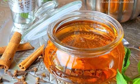 Sirop de miel fait maison