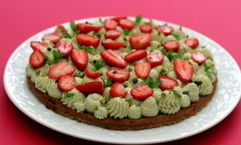 Fantastik pistache et fraises