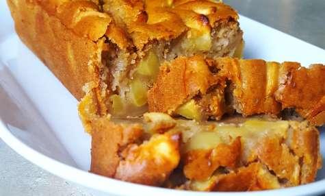 Cake très moelleux aux pommes vegan