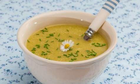 Soupe de chou fleur de printemps