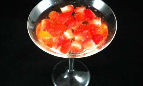 Cocktail Cointreau-fraises