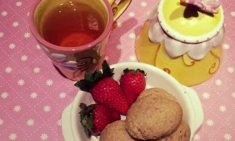 Gâteaux de semoule aux fraises