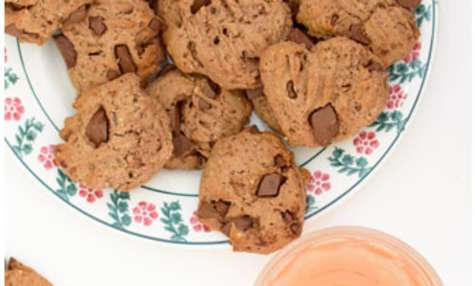 Cookies à la banane et au chocolat