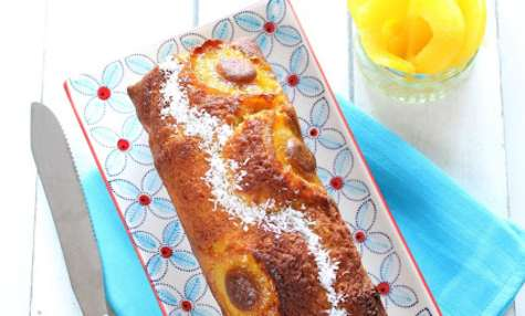Cake ananas, rhum - coco