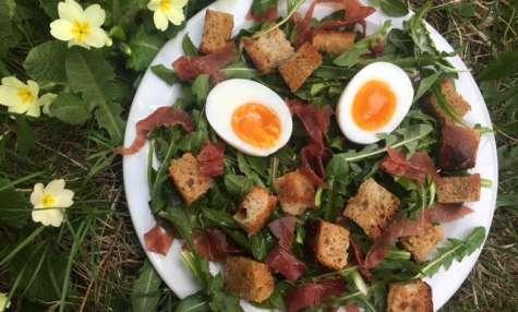 La salade de pissenlits parfaite !
