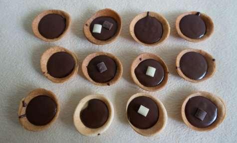 Mini tartelettes chocolat pour les flemmards