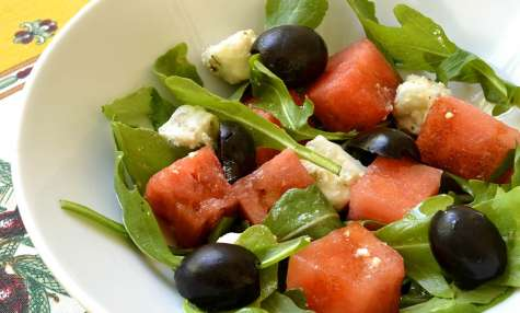 Salade fraîcheur à la pastèque