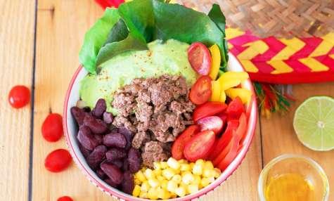 Salade healthy façon chili