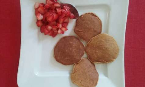 Racuchy z jablkami ou pancakes aux pommes