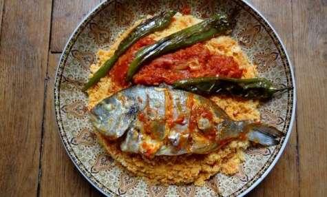 Couscous au poisson de Sfax