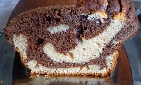 Marbré cacahuète chocolat
