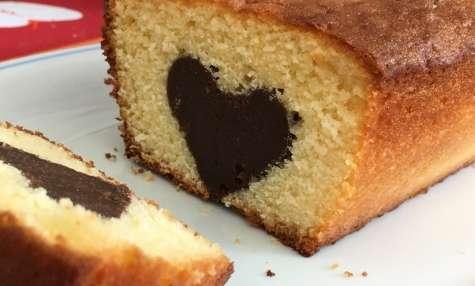 Cake cœur surprise
