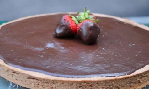 Tarte au chocolat et crème brûlée au café d'Eric Kayser
