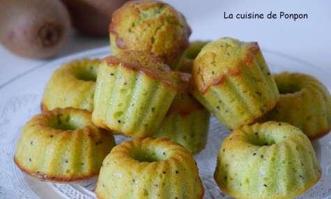 Muffin kiwi aux amandes