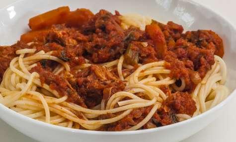 Spaghetti al ragù di vitello