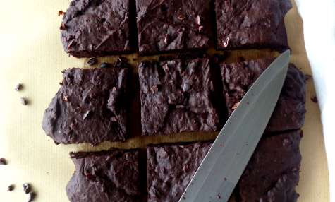 Brownies fondants aux dattes