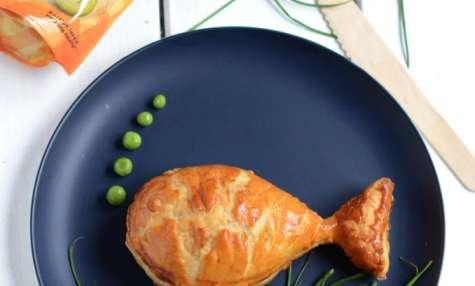 Friand au poulet et olives vertes en rondelles Tramier