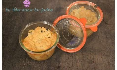 Crumble Pomme individuel