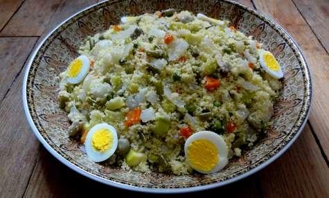 Couscous aux légumes vapeur