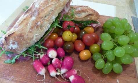 Sandwich pique-nique Français