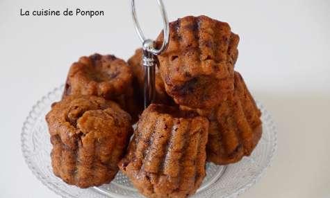 Muffin à la banane et aux pépites de chocolat