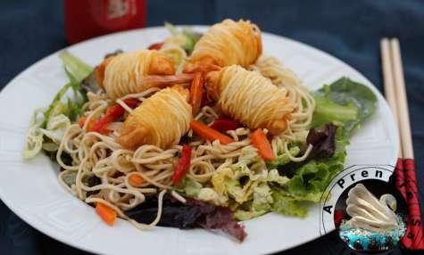 Salade de nouilles froides thaï