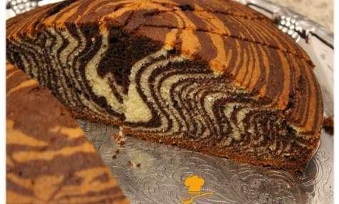 Zebra Cake - Le gâteau zébré