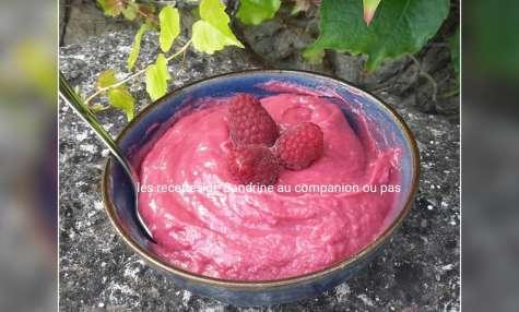 Curd de framboises ou crème de fruit