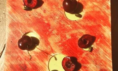 Tarte cerise, pistache de Claire Heitzler