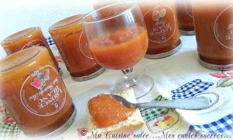 Confiture de patate douce cannelle et vanille