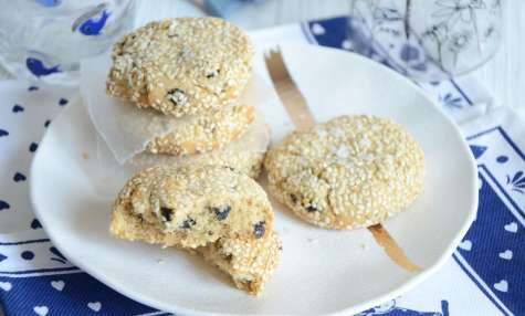 Cookies tahini et nori